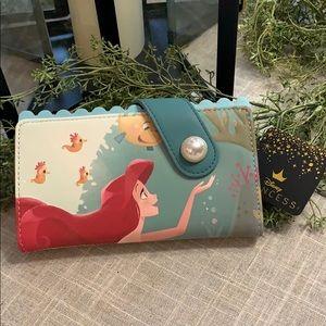 Loungefly little mermaid wallet